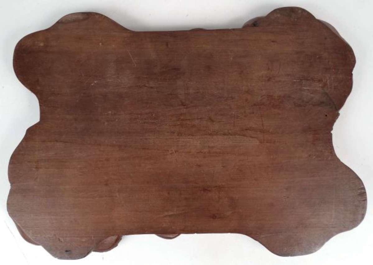 un plateau de fumeur d cor de dragon travail europ en bois rouge longueur 51 cm france. Black Bedroom Furniture Sets. Home Design Ideas
