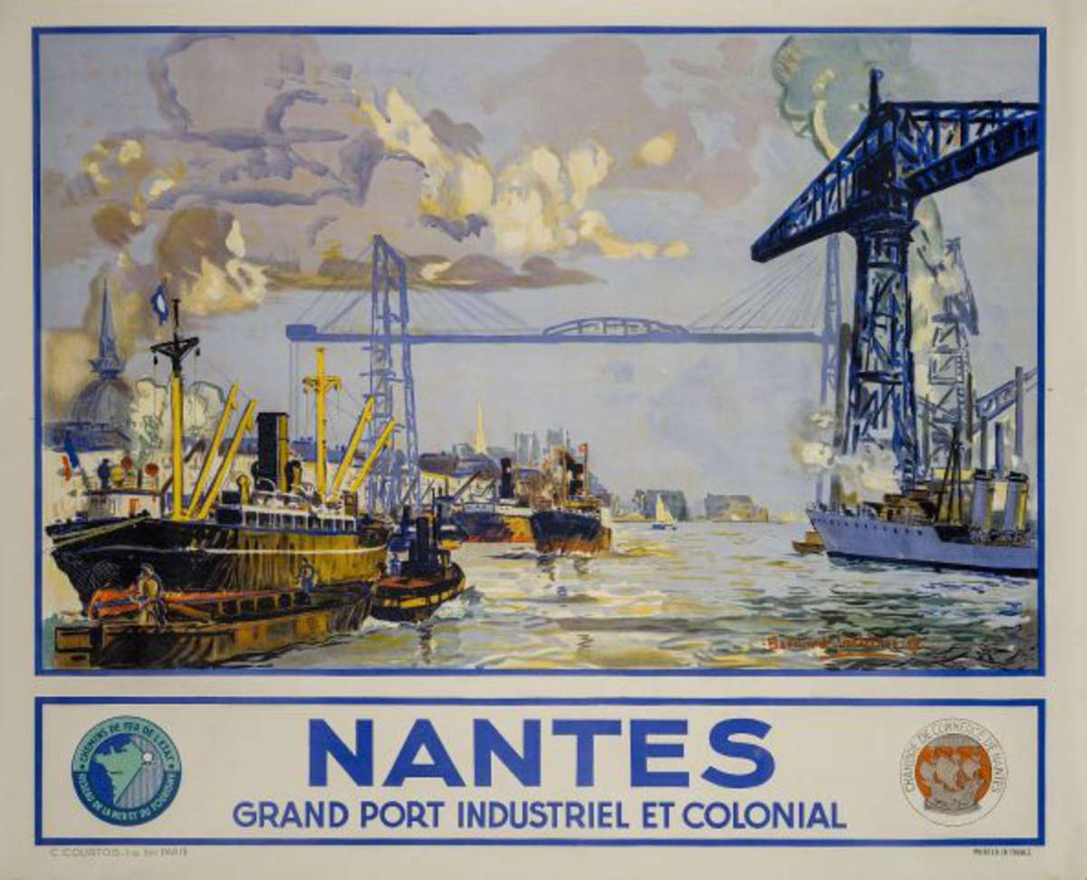 Nantes grand port industriel et colonial chambre de for Chambre de commerce nantes