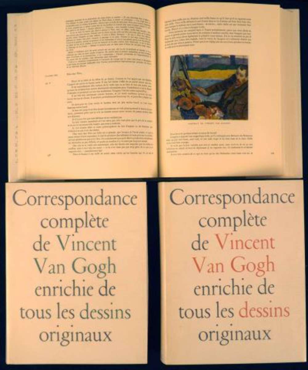 van gogh vincent correspondance compl te enrichie de tous les dessins originaux traduction de. Black Bedroom Furniture Sets. Home Design Ideas