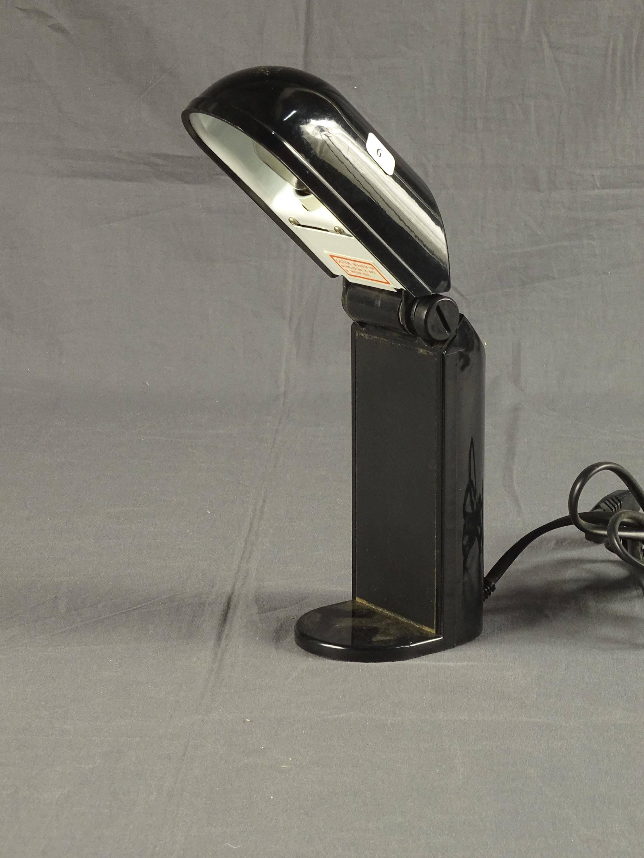 Pliable De Lampe En Plastique 1970Vente Bureau NoirCirca Aux IY76ybfgv