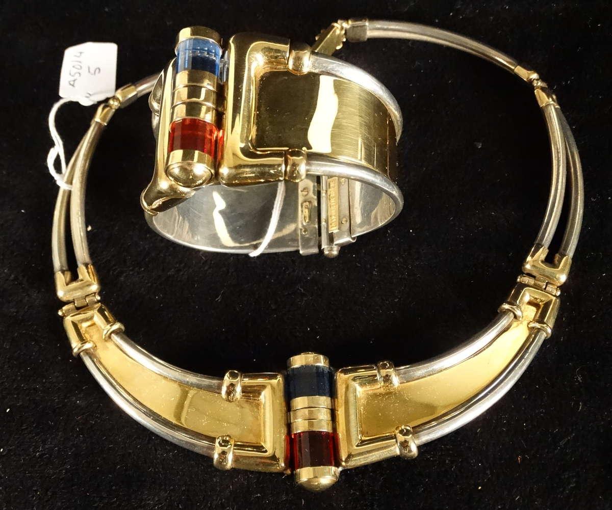 la nouvelle bague haute joaillerie italienne parure compos e d 39 un collier torque et un. Black Bedroom Furniture Sets. Home Design Ideas