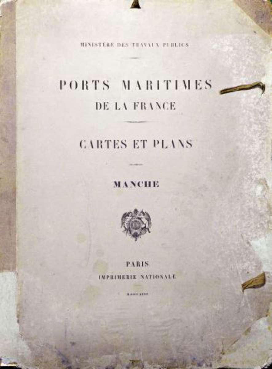 Minist re des travaux publics ports maritimes de la for Plans d imprimerie