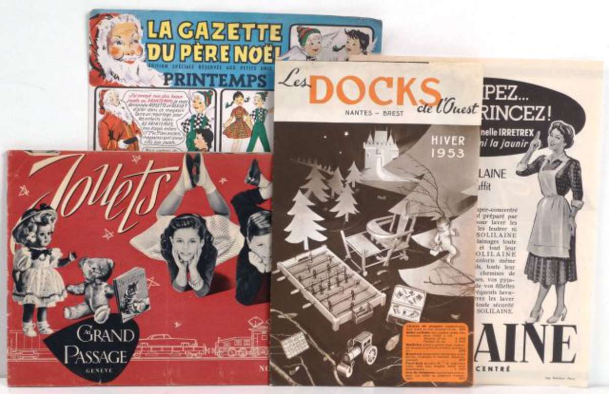 lot de 3 catalogues de jouets au printemps les docks de l 39 ouest grand passage gen ve. Black Bedroom Furniture Sets. Home Design Ideas