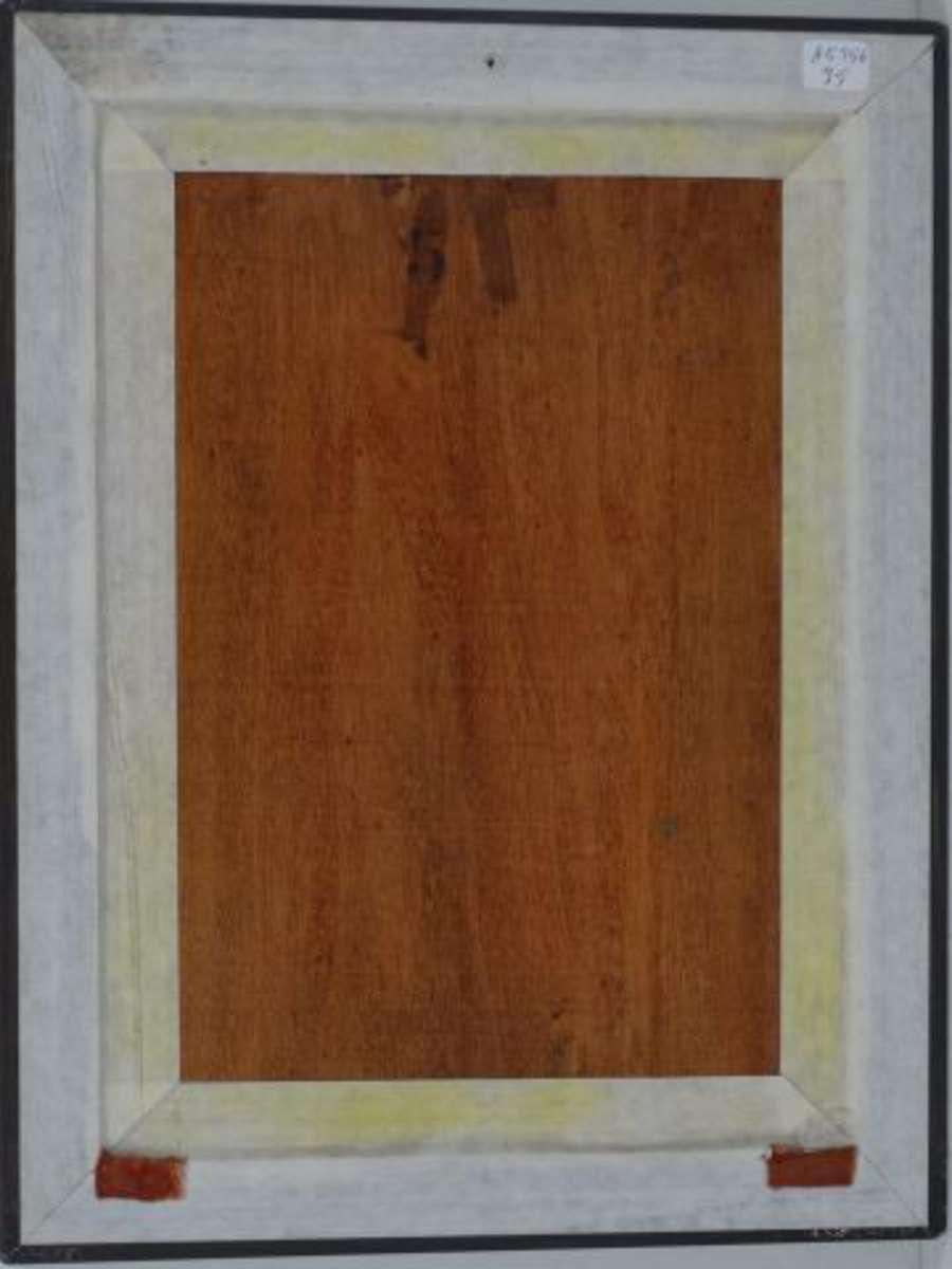 Ecole Xxème S Sousbois Huile sur panneau 33 x 23,5 cm  ~ Ecole Monceau Pavillons Sous Bois
