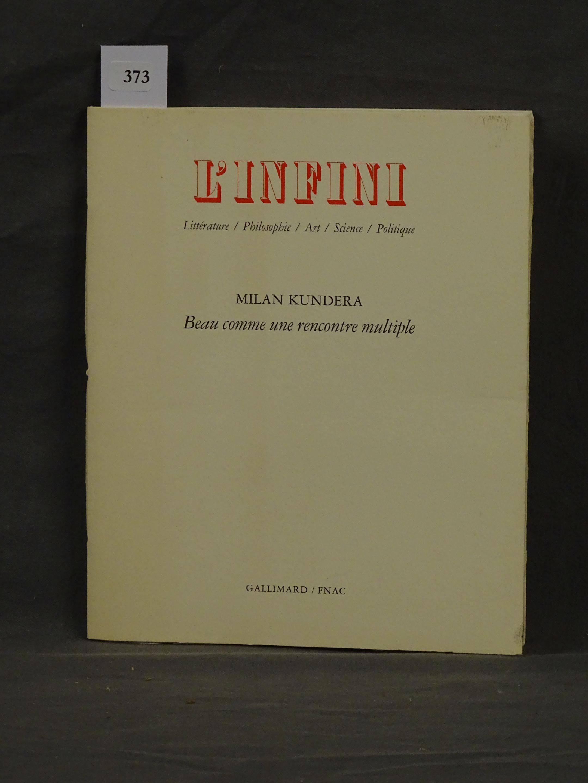 Contributions de Milan Kundera
