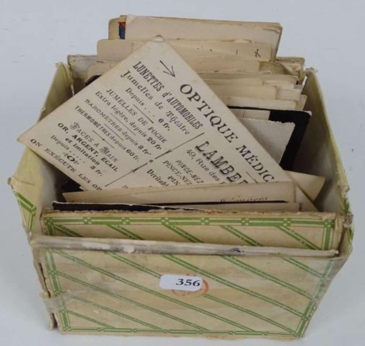 200 Cartes De Visite Anciennes