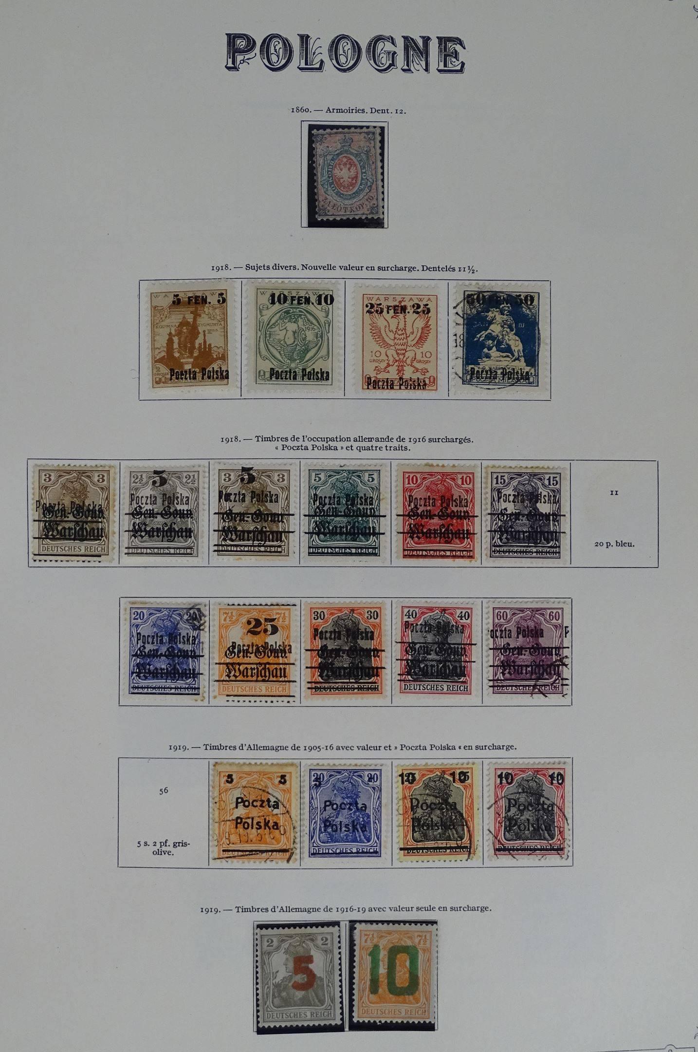 Pologne 2017-2024 Timbres pour Les collectionneurs compl/ète Edition 1970 Miniatures Peinture