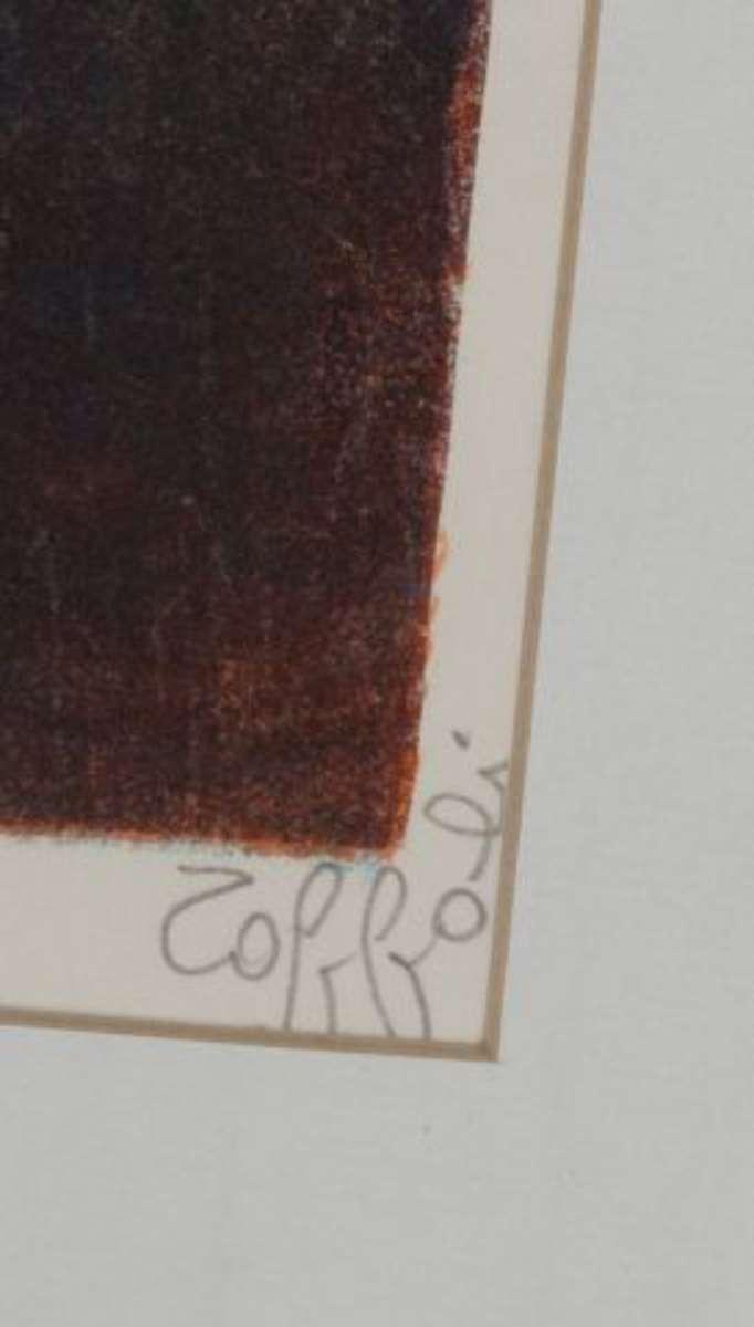 toffoli louis 1907 1999 chaudronnier lithographie sign e en bas droite justifi e ea vente aux. Black Bedroom Furniture Sets. Home Design Ideas