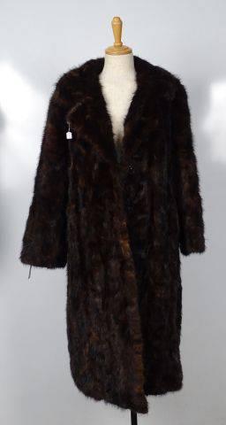 manteau de vison vente aux ench res mode vintage maroquinerie. Black Bedroom Furniture Sets. Home Design Ideas