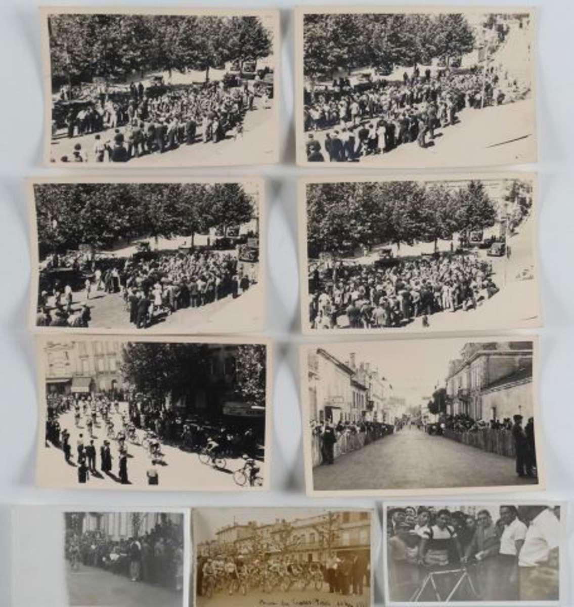 cyclisme 1936 9 photographies du crit rium de castillon la bataille gironde vente aux. Black Bedroom Furniture Sets. Home Design Ideas