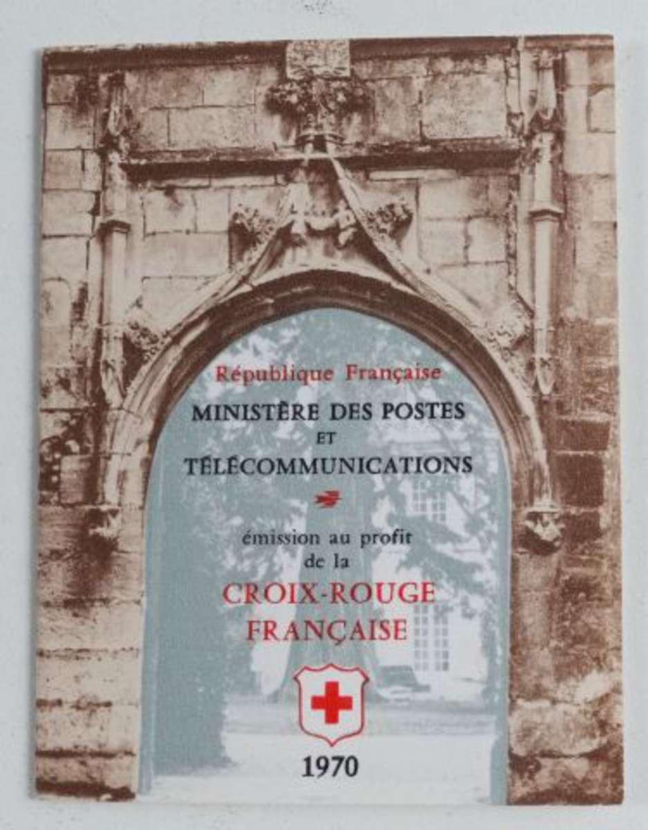 carnet croix rouge 1970 inscription en 27mm au lieu de 32 mm n 2019a vente aux ench res. Black Bedroom Furniture Sets. Home Design Ideas