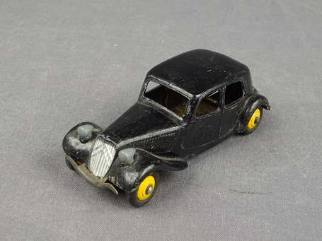 Dinky toys France - Citroen traction noire, bel