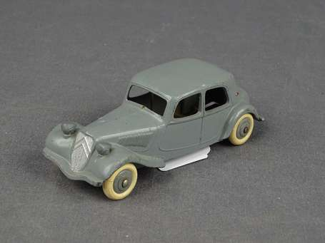 Dinky toys France - Citroen traction grise, bel