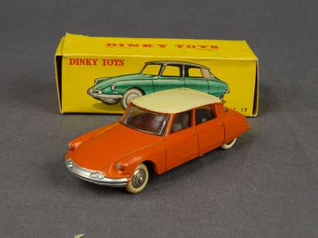 Dinky toys France - Citroen DS 19 - couleur orange