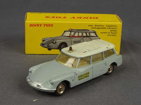 Dinky toys France - Citroen ID 19 Ambulance -