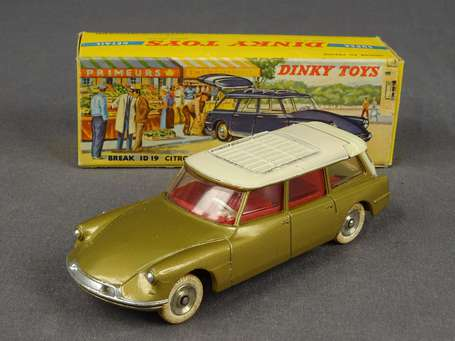Dinky toys France - Citroen ID 19 Break - couleur