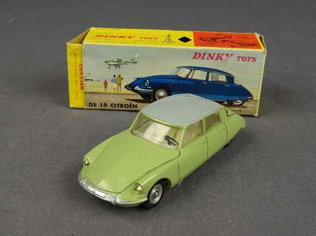 Dinky toys France - Citroen DS19 - couleur verte