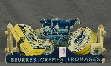DUPONT D'ISIGNY Beurre & Camembert : PLV Diorama