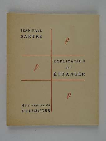 CAMUS (Albert)] - SARTRE (Jean-Paul) - Explication