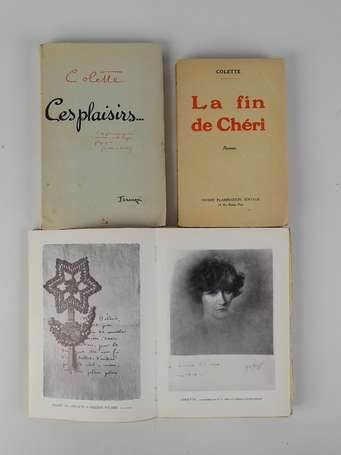 COLETTE - [Ensemble de 3 volumes :] Ces plaisirs…