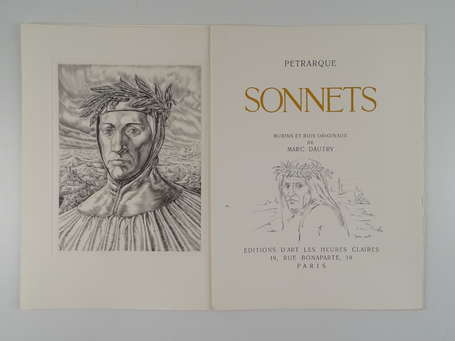 PÉTRAQUE - Sonnets - Paris ; Éditions d'Art les