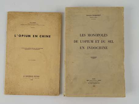 [INDOCHINE - CHINE] - [Ensemble de 2 volumes :]