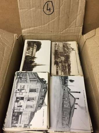 Carton d'env. 1500 cartes postales France