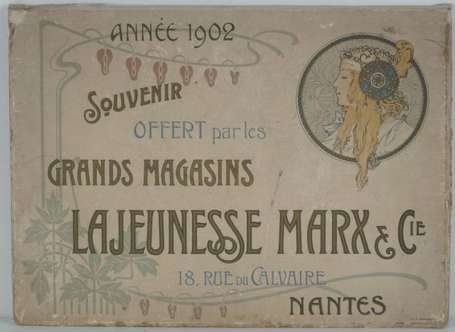 MUCHA Alfons (1860-1939) : Sous-main calendrier