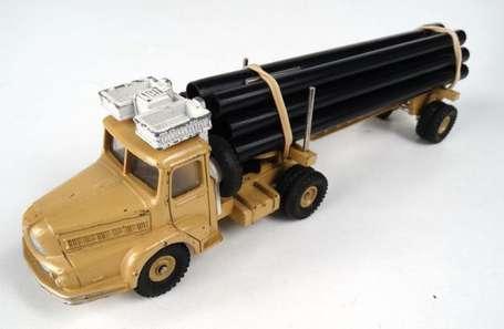 dinky toys camion unic saharien tat d 39 usage accident pipe lines vente aux ench res. Black Bedroom Furniture Sets. Home Design Ideas