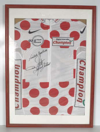 Laurent JALABERT. Maillot du tour de France 2002