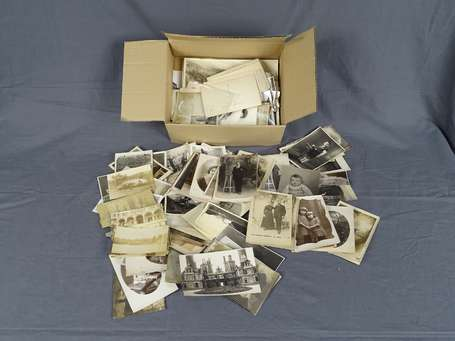 Photo - 1 Boite de Photos et carte photo - divers