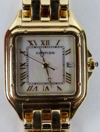 CARTIER Must de - Montre bracelet de dame en or
