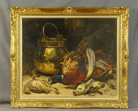 ROZIER Dominique (1840-1901) - Nature morte aux