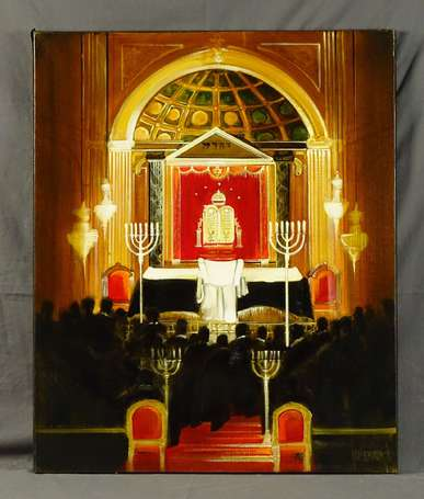 GUILLEMARD Dominique (1949-2010) - Synagogues.
