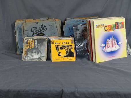 Disques vinyles LOT NON EXPEDIABLE