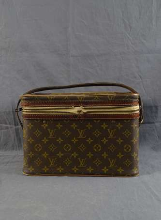 LOUIS VUITTON - Vanity case en toile monogram et