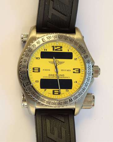 BREITLING - Montre bracelet Emergency by Dassault